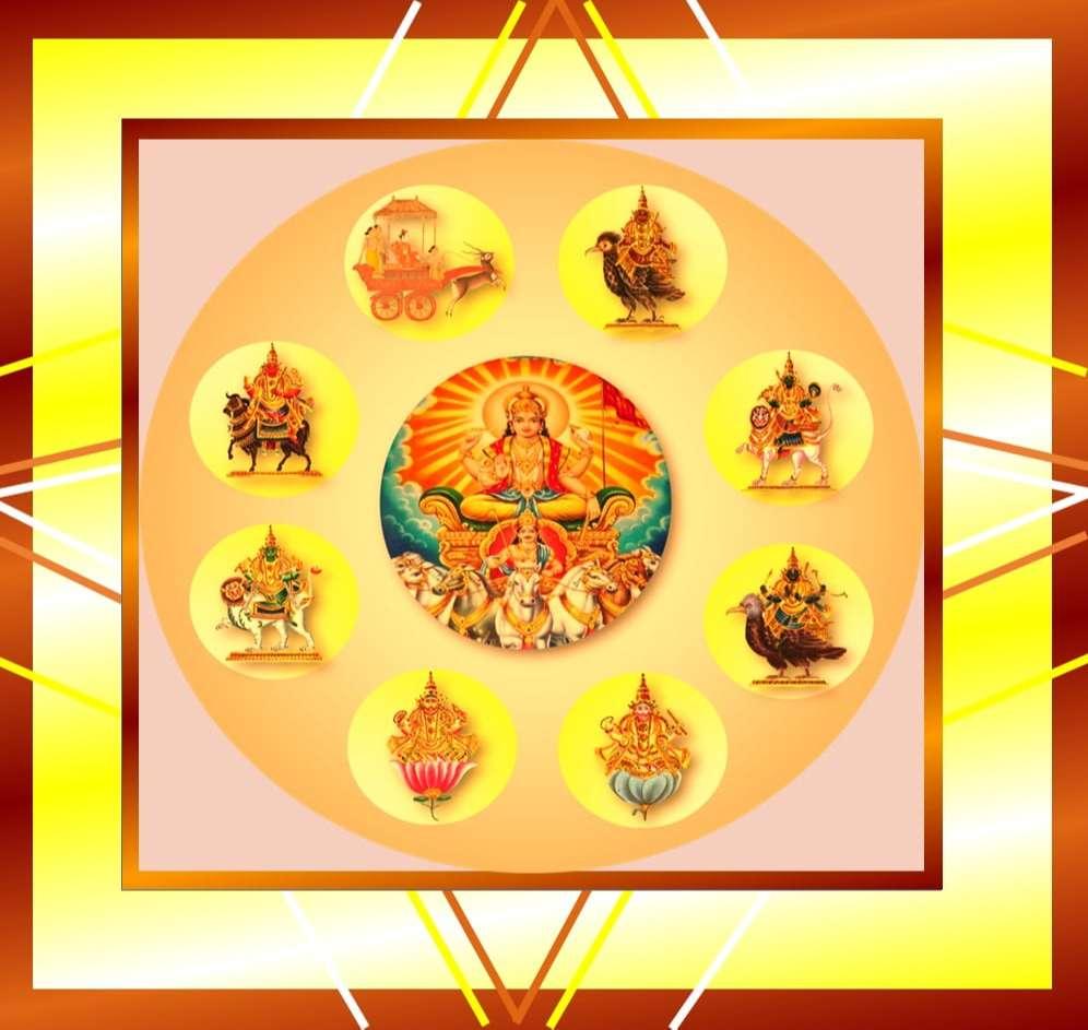 Navgrah Mantra and Shanti Puja